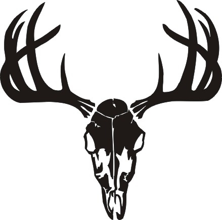 ... Deer Skull Graphics Clipart ...-... Deer Skull Graphics Clipart ...-13