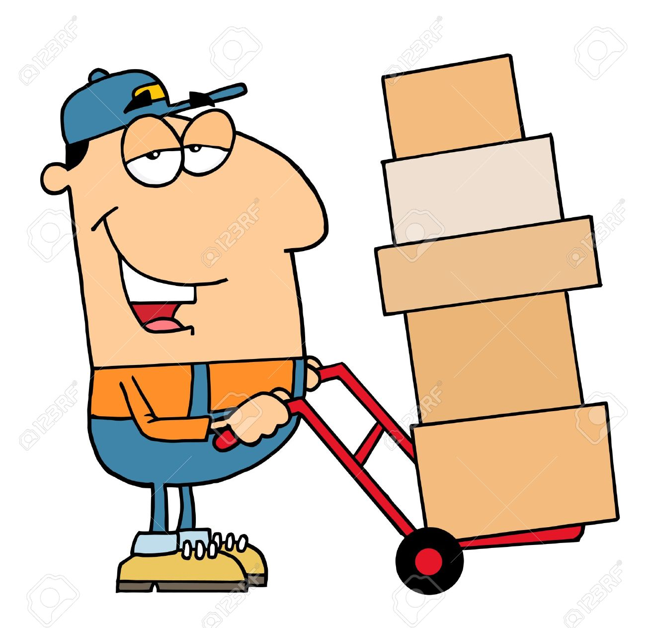 delivery clipart