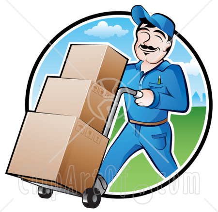 Delivery Man Clipart Courier Delivery Ltl Freight
