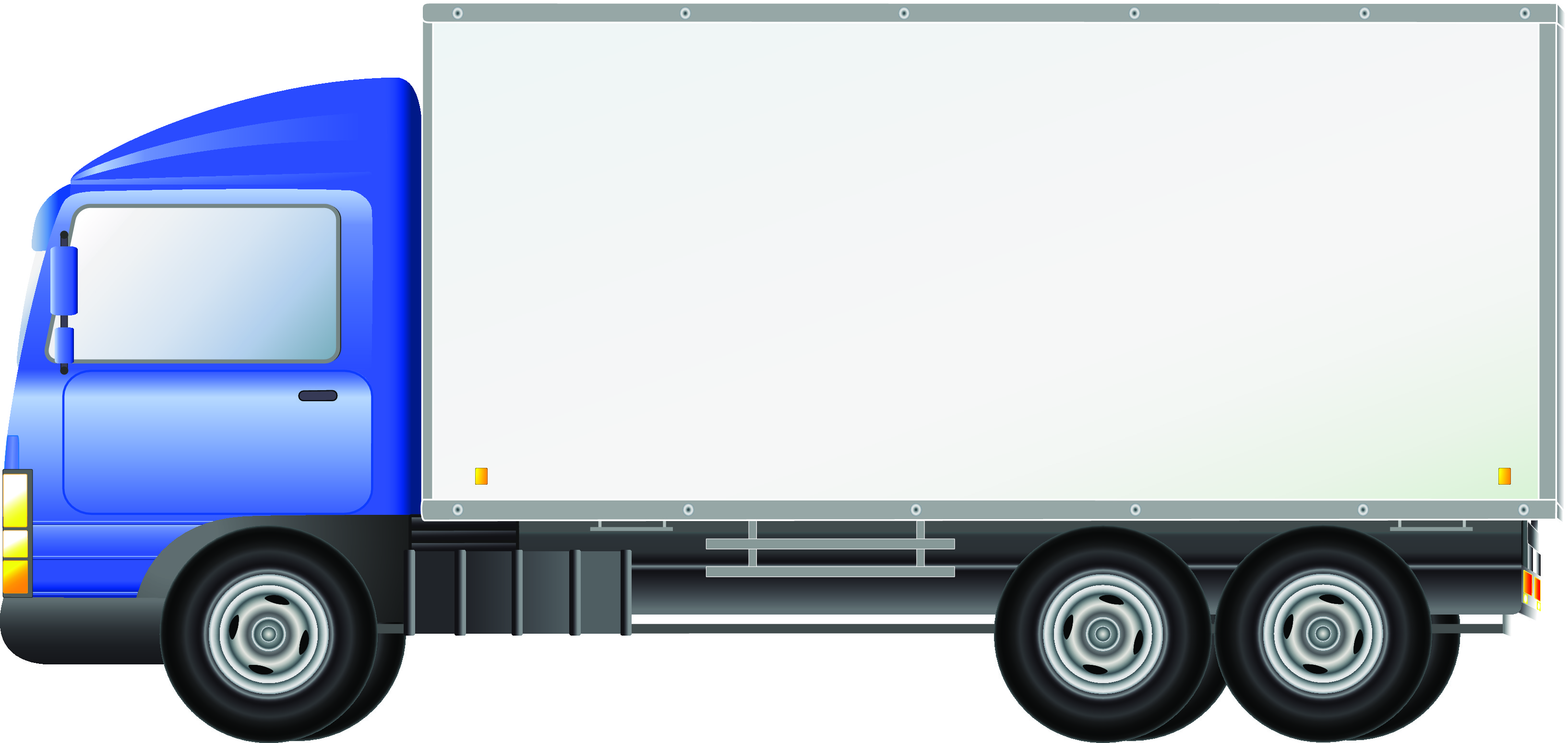 pickup truck clipart outline