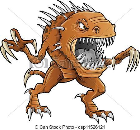 ... Demon Monster Beast Vector