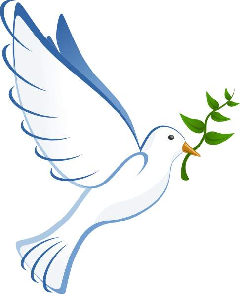 Descending dove clipart christian dove symbol a dove the bird of 2
