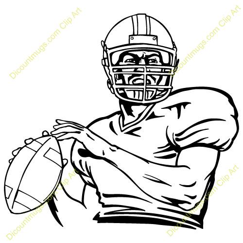 Description Quarterback Football Front Keywords Quarterback
