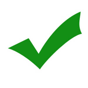 Description This Free Clipart Picture Is Of A Green Check Mark This
