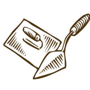 Description This Is A Free Clipart Picture Of A Mason S Trowel And