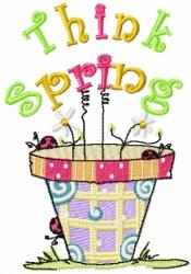 Designs Misc Sassythinkspring - Think Spring Clip Art