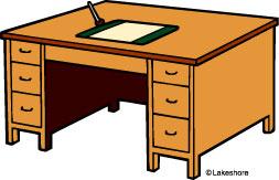 Desk Clip Art