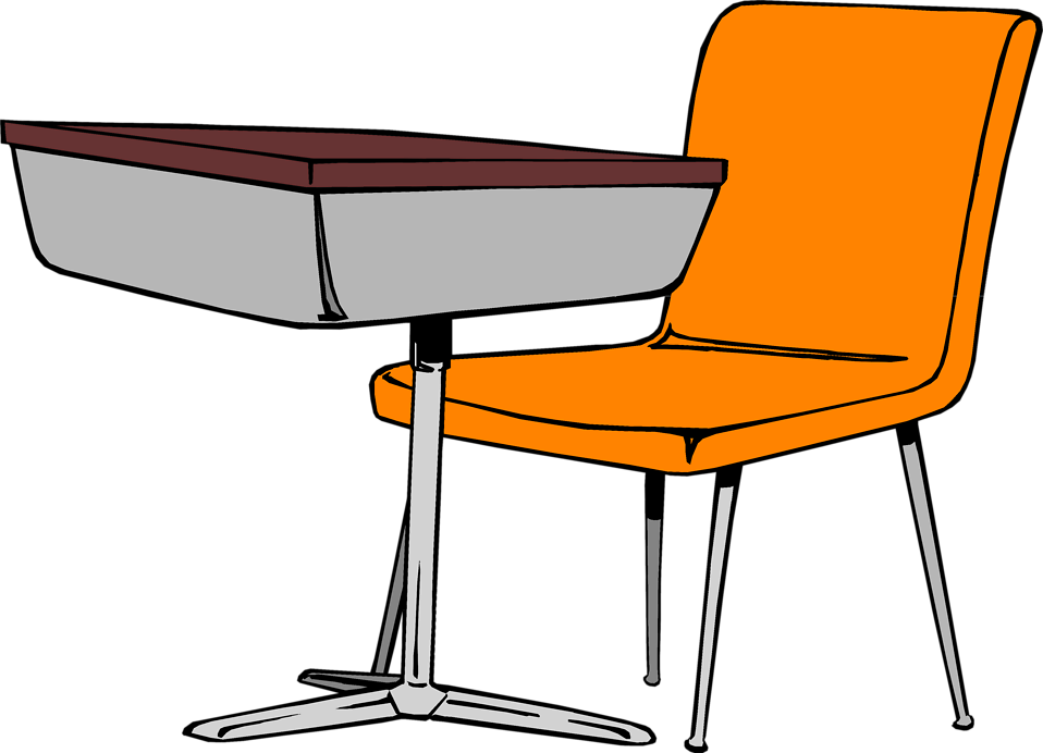 Desk Free Stock Photo Illustration Of A -Desk Free Stock Photo Illustration Of A Student Desk And Chair-1