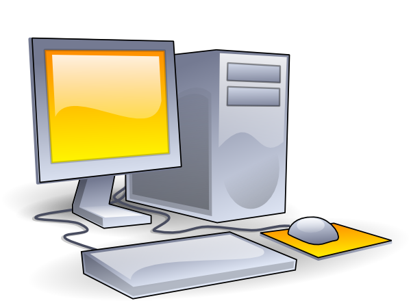 Desktop Computer Clip Art At Clker Com V-Desktop Computer Clip Art At Clker Com Vector Clip Art Online-1