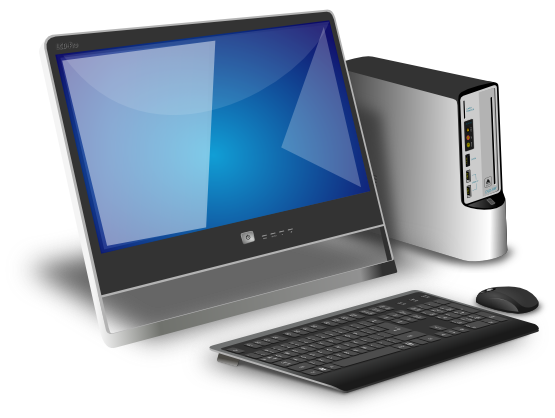 Desktop Computer Clip Art Images Free For Commercial Use ...