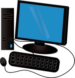Desktop Computer Clipart Clipart Panda Free Clipart Images