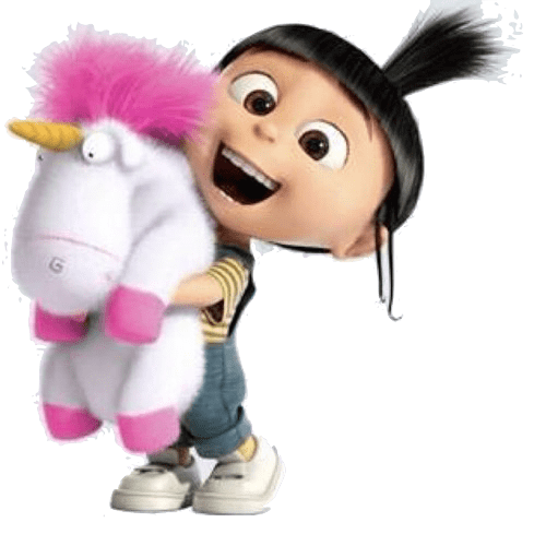 Agnes And Unicorn Despicable Me-Agnes and Unicorn Despicable Me-2