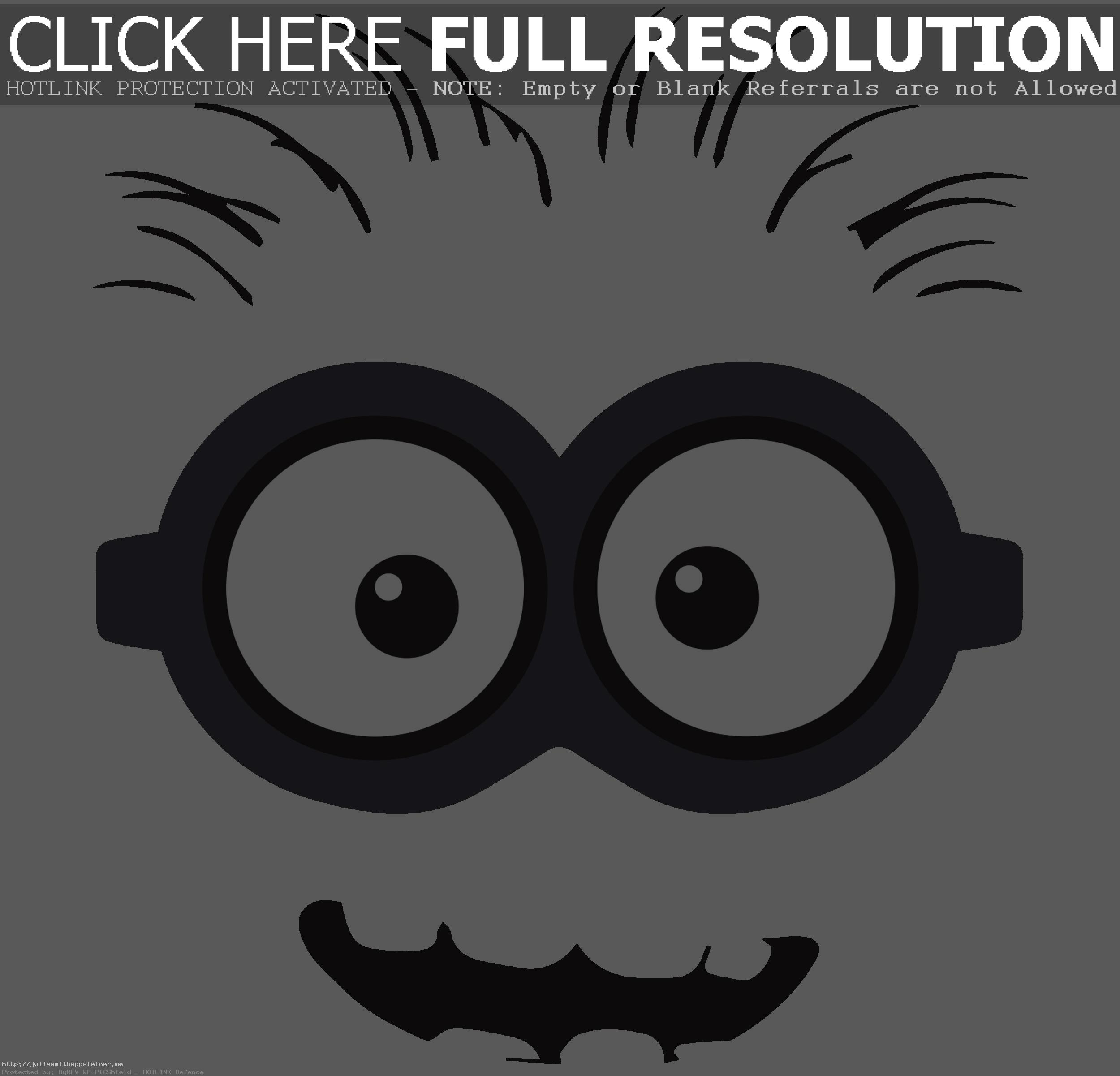 Minion Clip Art Free Back Gallery For De-Minion Clip Art Free Back Gallery For Despicable Me Unusual Clipart Black  And-6