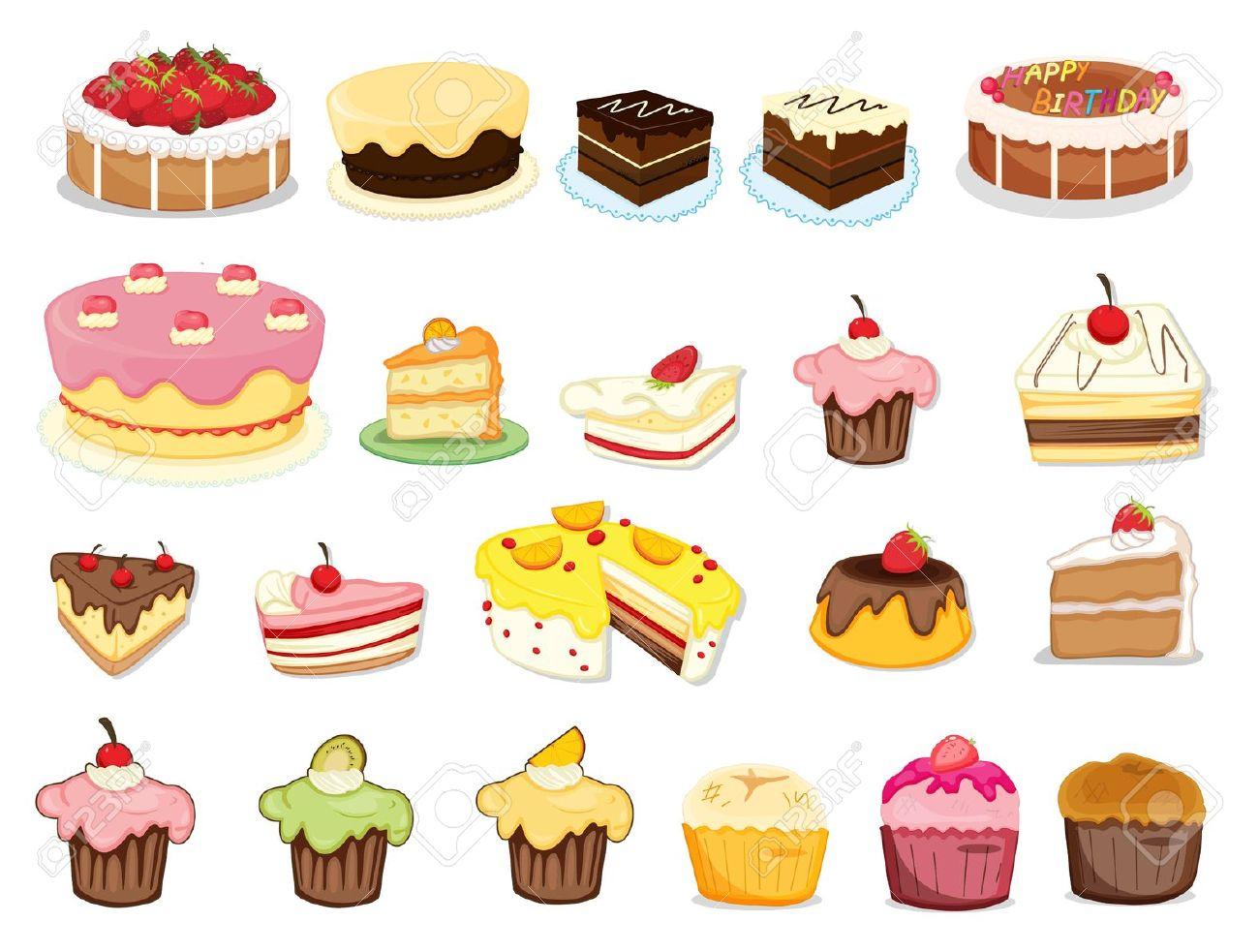 Desserts clip art - ClipartFox