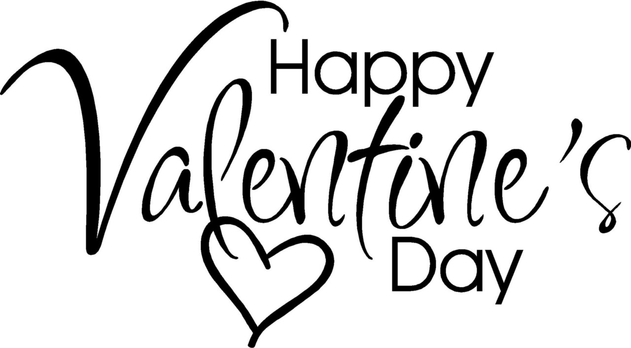 Details About Happy Valentines Day Lette-Details About Happy Valentines Day Letters Sticker Vinyl Decal Word-11