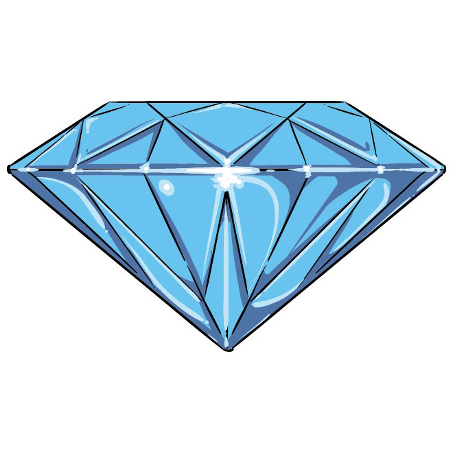 diamond clipart