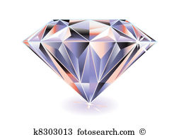 Diamond bright - Diamond Clip Art Free