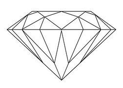 Diamond Clip Art .-Diamond clip art .-6
