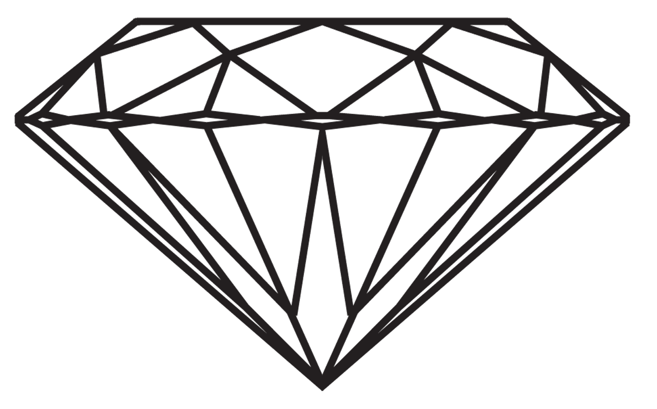 Diamond Logo Tumblr 3f28af 28 - Diamond Clip Art Free