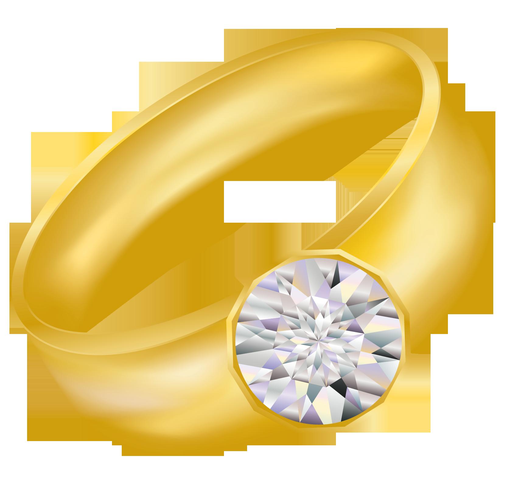 Diamond Ring Clip Art Free Clipart Image-Diamond ring clip art free clipart images 6 3-2