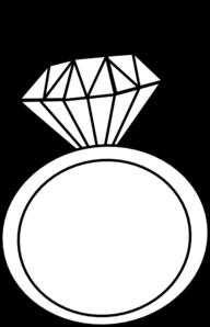 Diamond Ring Clipart No .