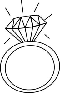 Diamond Ring Clipart No .