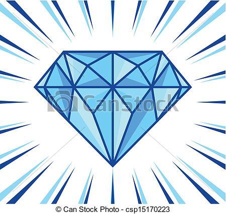 Diamond shine Clip Artby ...