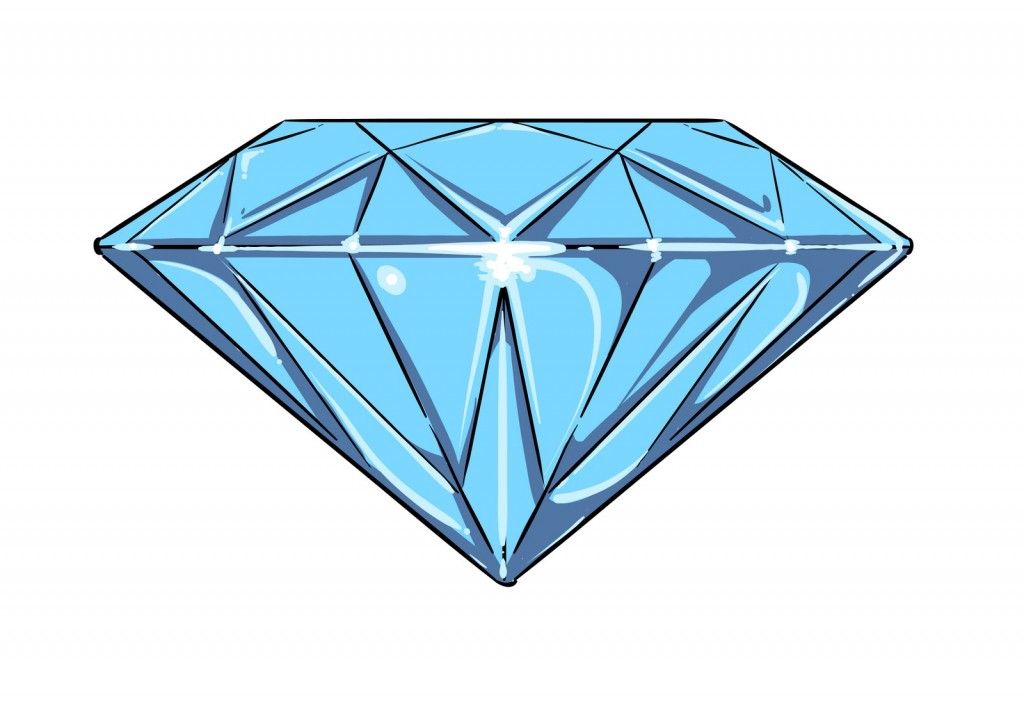 Diamond Vector Free u0026middot; Clip Art Diamond