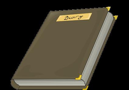 diary clipart-diary clipart-0