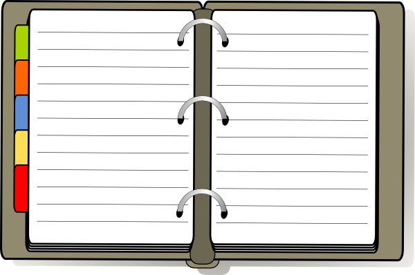 Diary Clipart-diary clipart-4