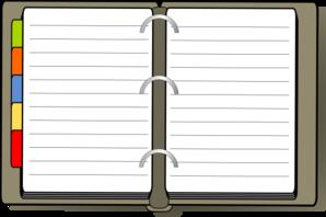 Diary Clip Art-Diary Clip Art-6