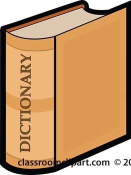 ... Dictionary Clip Art