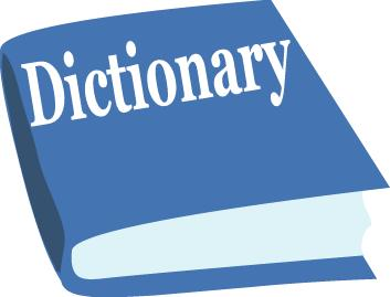 Dictionary Clipart