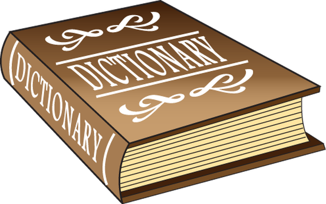 Dictionary Clipart. Dictionary .