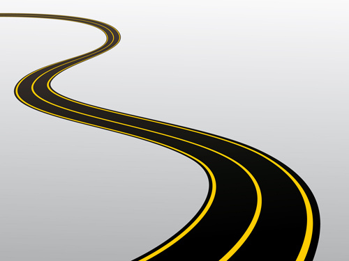 Different Winding Road Design Vector-different winding road design vector-2