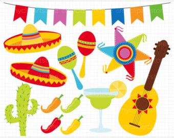 Digital Clipart Cinco De Mayo M Exico Festival Fiesta ...