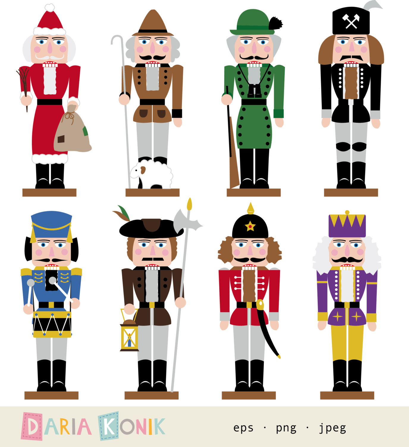 Digital Download Discoveries For NUTCRAC-Digital Download Discoveries for NUTCRACKER CLIP ART from-2