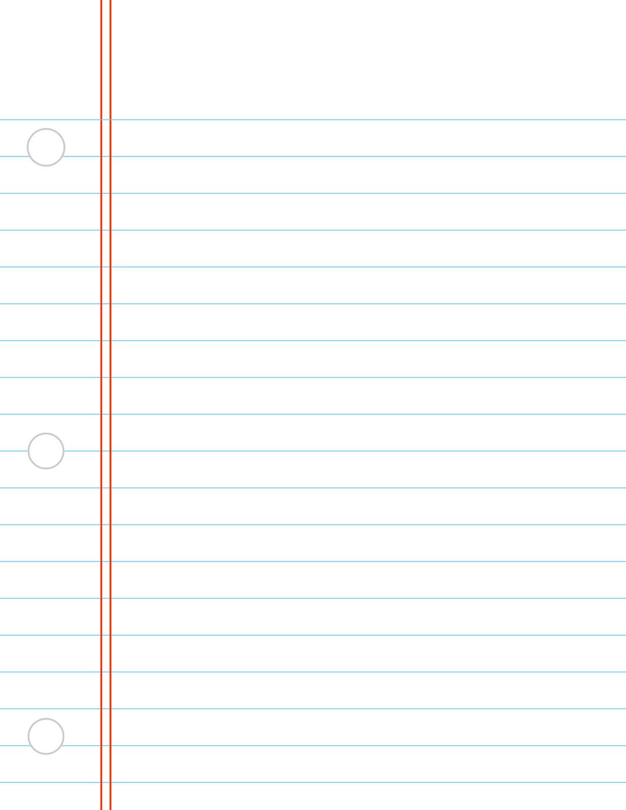 Digital Printable: Notebook Paper-digital printable: notebook paper-16