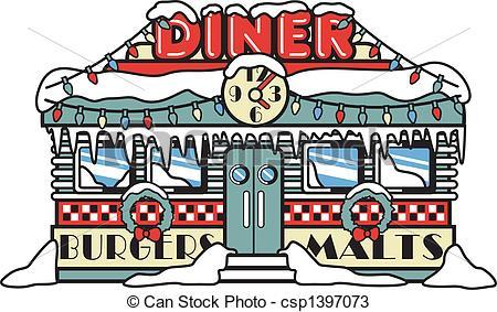 Diner Clipart #1