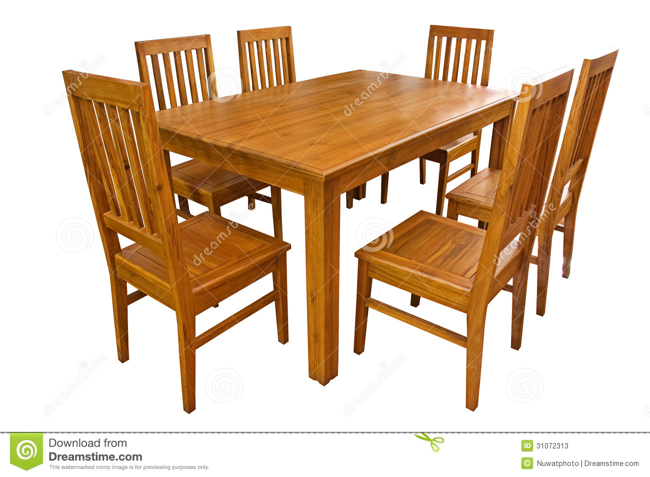 Dining Table And Chairs Isolated Stock P-Dining Table And Chairs Isolated Stock Photos Image 31072313-19