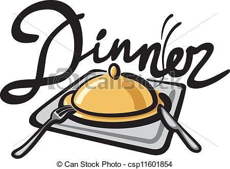 dinner clipart