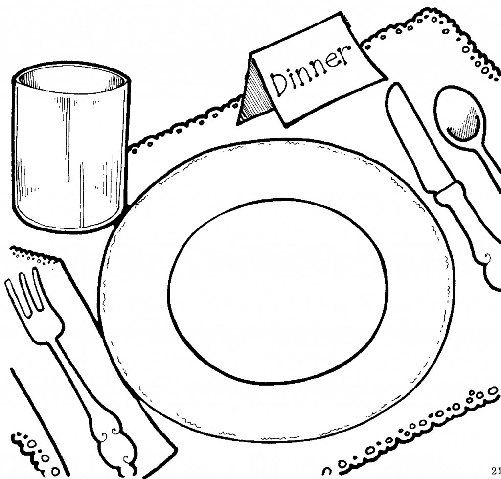 Dinner Plate Clipart 1024x979-Dinner Plate Clipart 1024x979-5