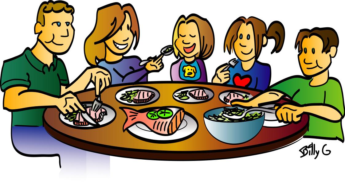 Dinner Table Clipart Dinner Plate With F-Dinner Table Clipart Dinner Plate With Food Clipart Family Dinner-2