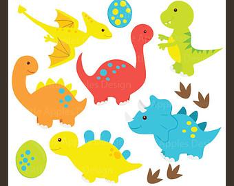 Dinosaur ClipArt / Dinosaur Clip Art / D-Dinosaur ClipArt / Dinosaur Clip Art / Dino Clipart / Dino Clip Art / Tyrex ClipArt / Brontosaurus Clip Art / Commercial u0026amp; Personal-4