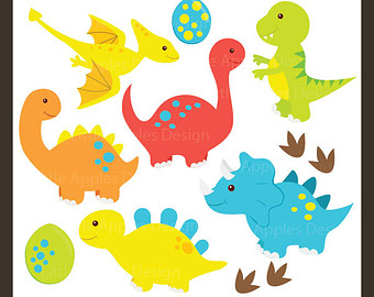 Dinosaur ClipArt / Dinosaur Clip Art / D-Dinosaur ClipArt / Dinosaur Clip Art / Dino Clipart / Dino Clip Art / Tyrex ClipArt / Brontosaurus Clip Art / Commercial u0026amp; Personal-5