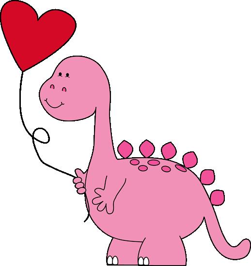 Dinosaur Valentine Balloon-Dinosaur Valentine Balloon-1