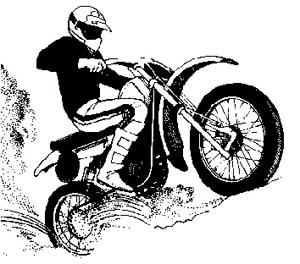Dirt Bike Clipart