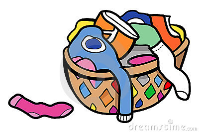 Dirty Clothes Hamper Clipart # .