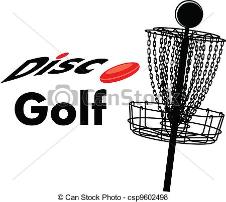 Disc Golf - A Disc Golf Cage With Text D-disc golf - a disc golf cage with text disc golf and a disc-7