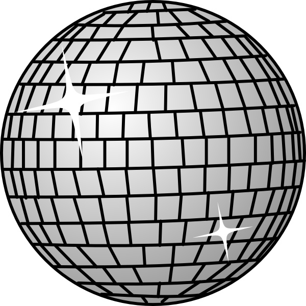 Disco Ball clip art